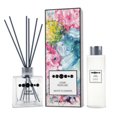 Home Perfume White Flowers - set
